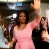 Oprah's Final Farewell; Photo Courtesy: (Screengrab from The Huffington Post video link; No Copyright Infringement Intended)